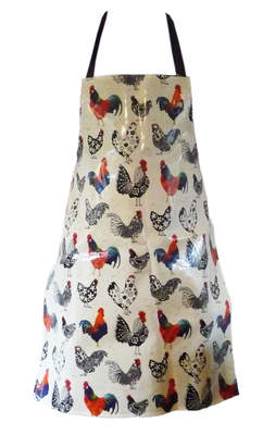 Apron PVC Rooster