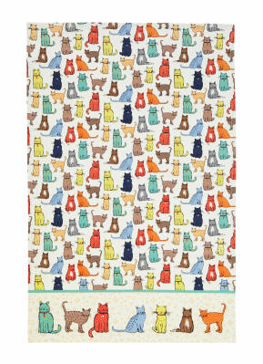 Catwalk Cotton Tea Towel