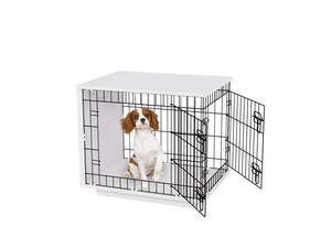 Fido Studio 24 Dog Crate - White