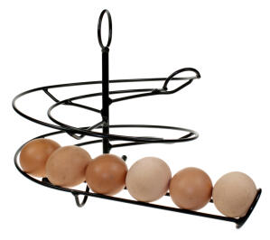 Egg Skelter 24 - Black for Medium to Large Eggs