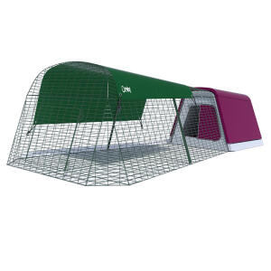 Eglu Go Rabbit Hutch with 2m Run Package - Purple