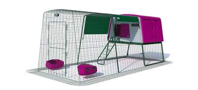 Eglu Cube Mk2 with 3m Run Package - Purple
