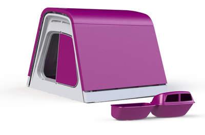Eglu Go Chicken Coop with Accessories - Purple