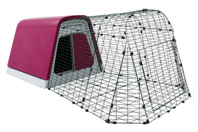 Eglu Go Guinea Pig Hutch with 1m Run Package - Purple