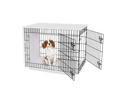 Fido Studio 36 Dog Crate - White