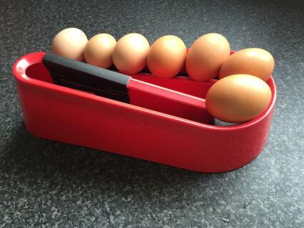 We've got your back Omlet Egg Ramp