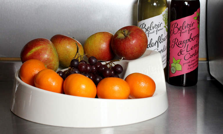 Rollabowl Fruit Bowl is the perfect accessory for any kitchen