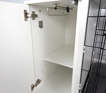 The Fido Studio optional Hook, Rail and Shelf